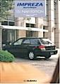 2003 Impreza Sport Wagon special edition models 15i NAVI EDITION