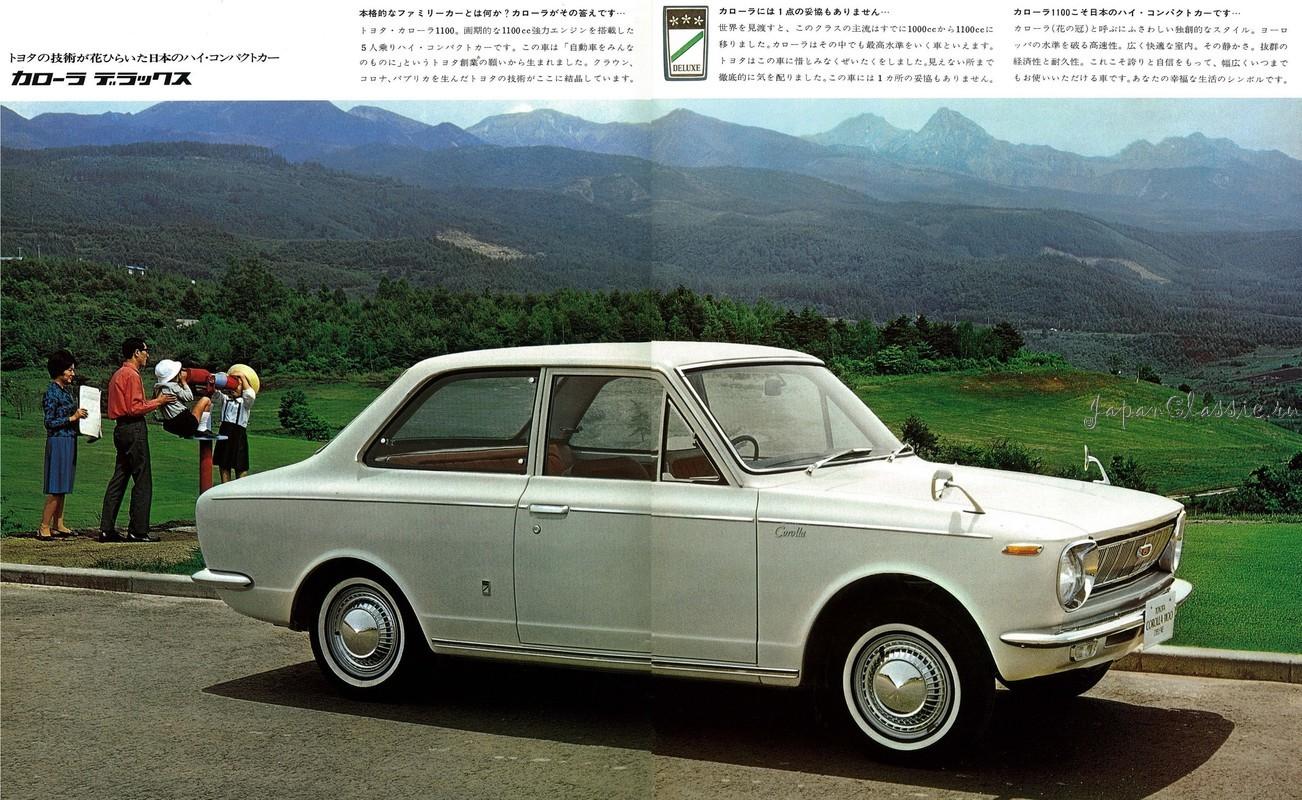 Toyota Estima 2018 >> Toyota Corolla 1966 E10 01 - JapanClassic