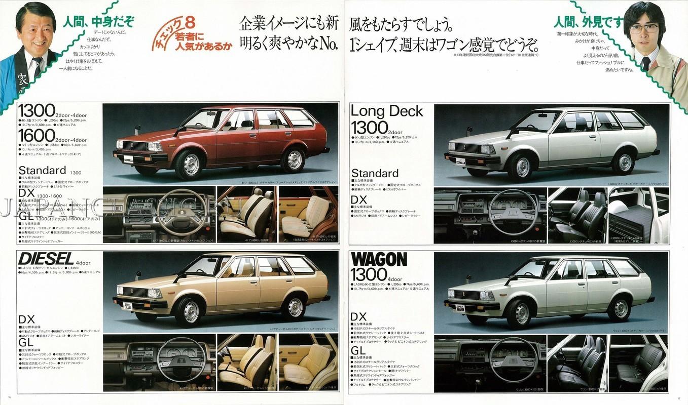 Toyota Corolla 1982 VAN E70 - JapanClassic