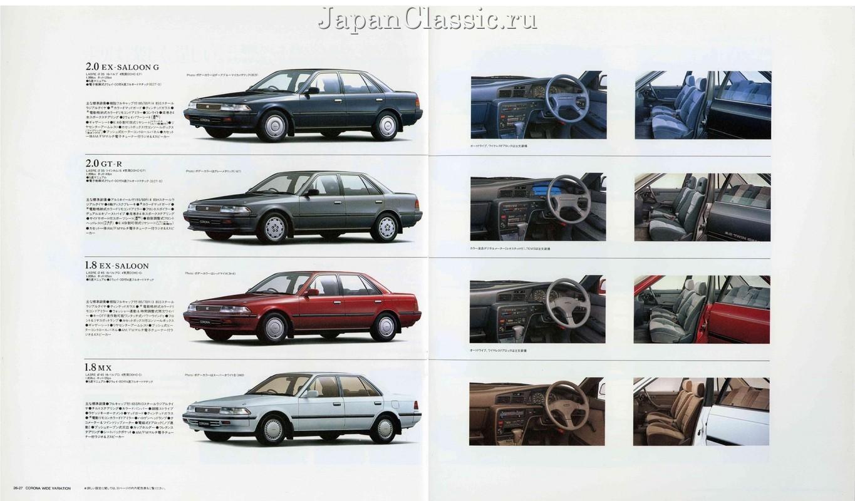Toyota Corona 1987 T170 Japanclassic