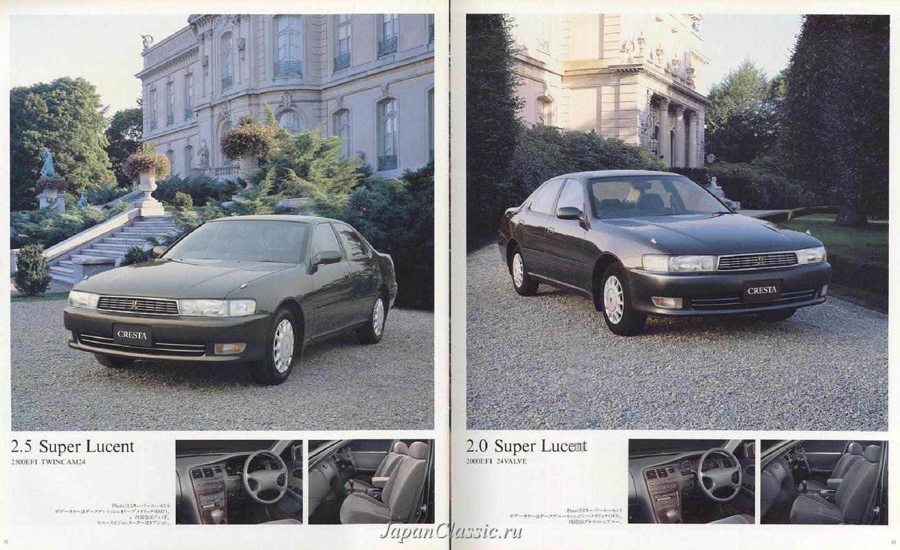 Toyota Cresta 1993 X90 Japanclassic