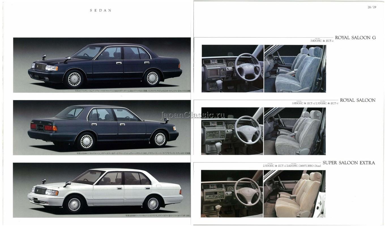 Toyota Crown 1990 S130 - JapanClassic
