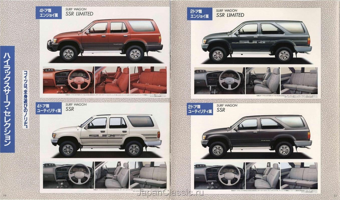 Toyota Hilux Surf 1989 N130 Japanclassic