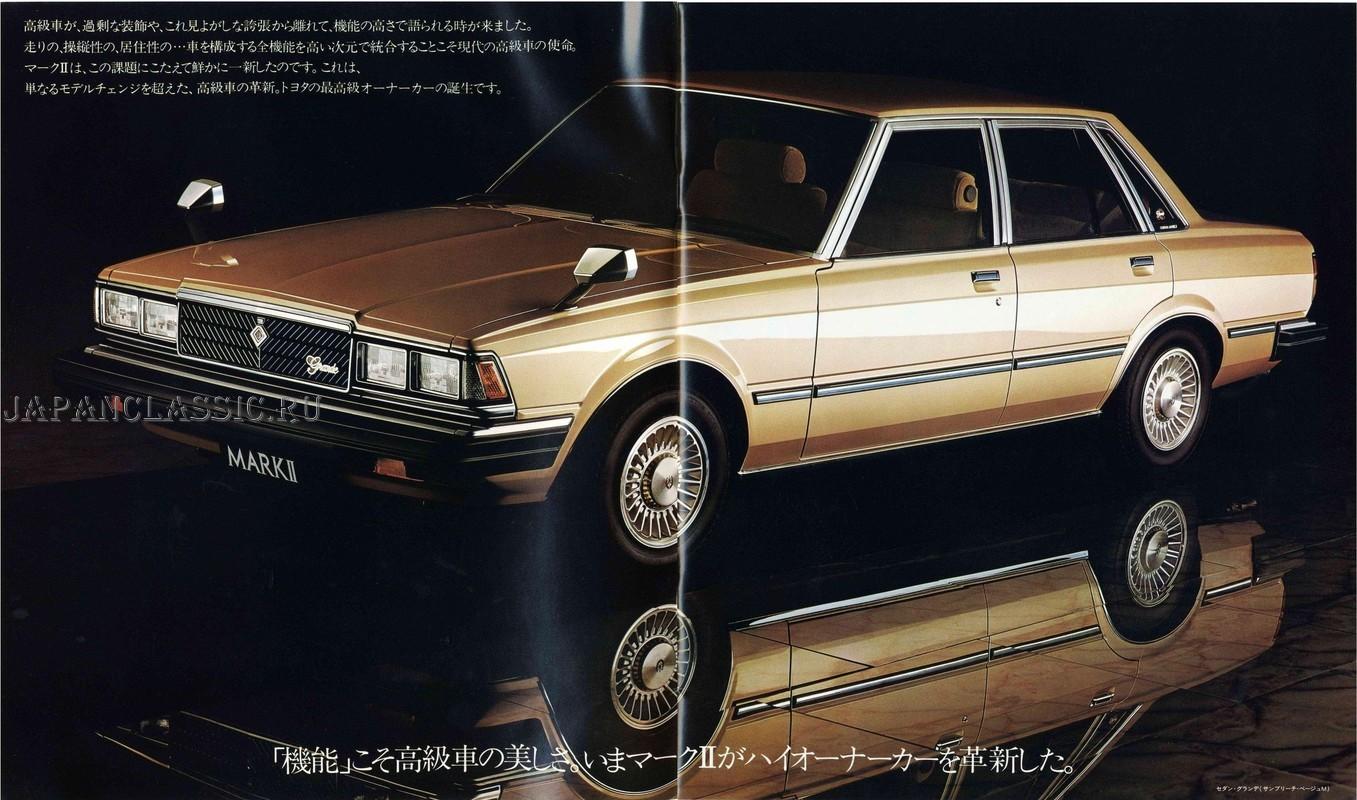 Toyota Mark II 1980 X60 - JapanClassic