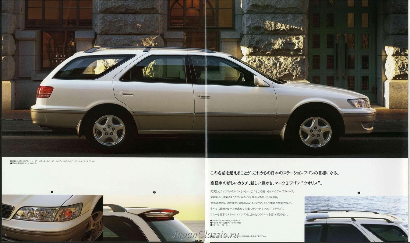 Toyota Mark II 1997 QUALIS MCV20,SXV20 - JapanClassic