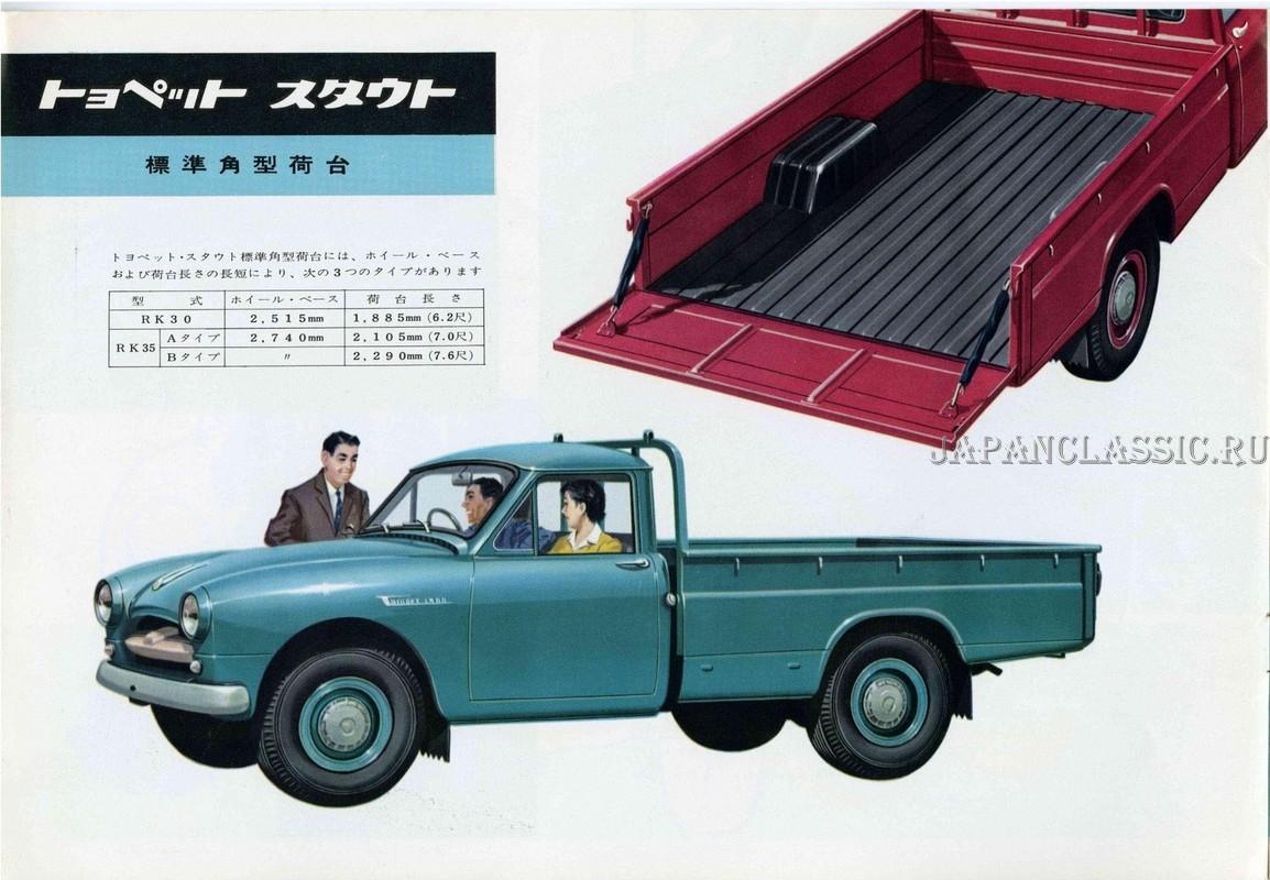 Toyota Stout 1959 Rk30 Japanclassic